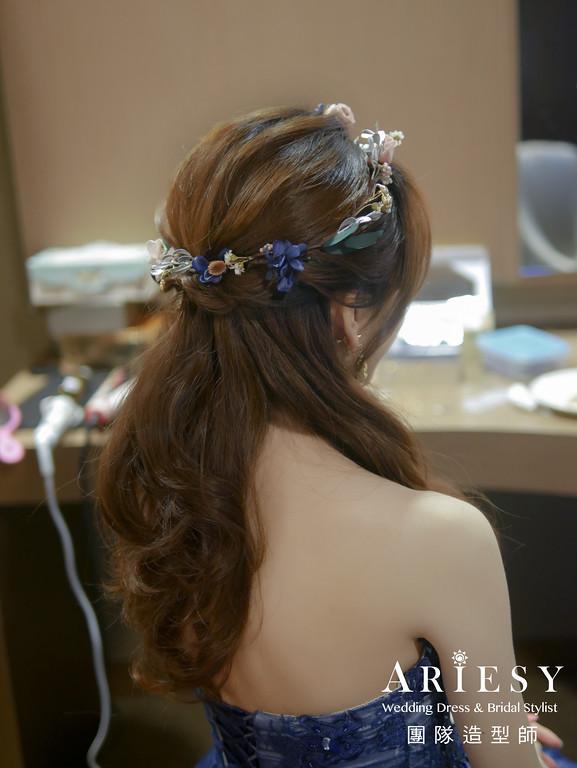 粗硬髮新娘造型,愛瑞思,giny,明星妝感,台北新秘,新娘秘書,新秘推薦