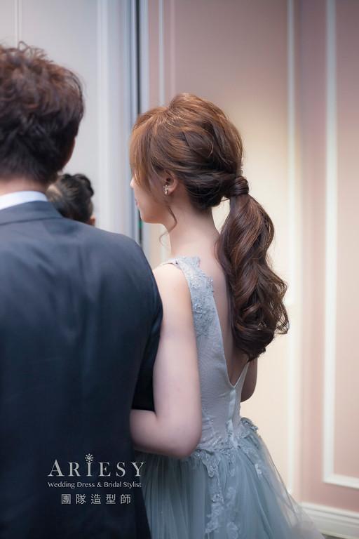 粗硬髮新娘造型,愛瑞思,hanya,明星妝感,台北新秘,新娘秘書,新秘推薦
