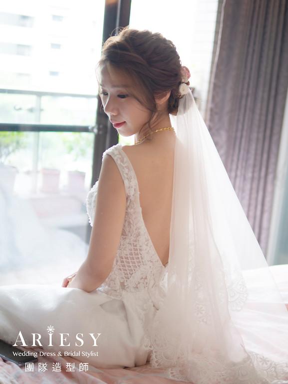 白紗迎娶證婚新娘造型,愛瑞思,NICA,台北新秘,新娘秘書,新秘推薦