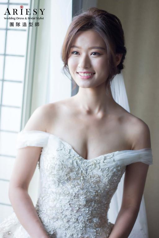 白紗迎娶證婚新娘造型,愛瑞思,DIBBIE,台北新秘,新娘秘書,新秘推薦