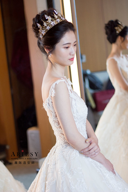 韓風新娘髮型,愛瑞思,debbie,台北新秘,新娘秘書,新秘推薦