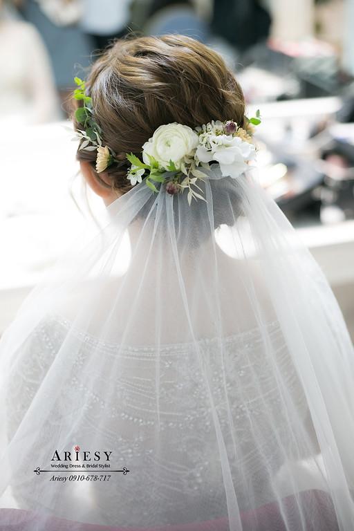鮮花(花藝)新娘造型,愛瑞思,ariesy,台北新秘,新娘秘書,新秘推薦
