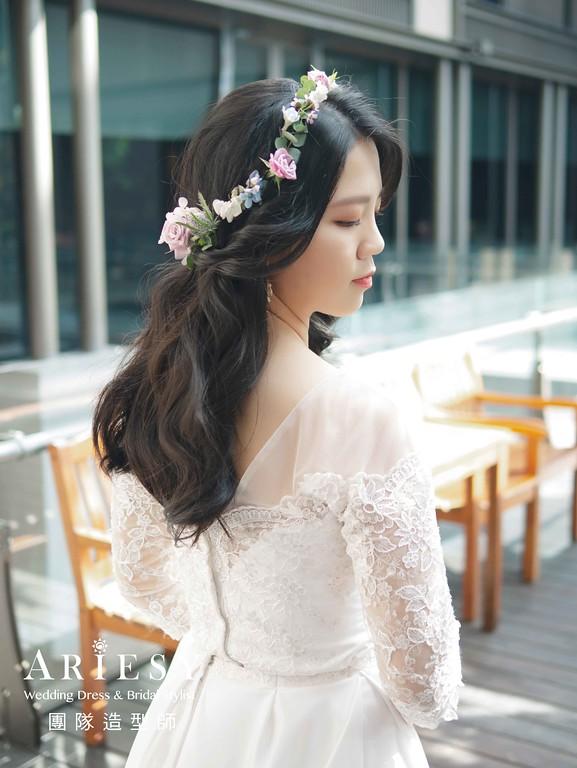 鮮花(花藝)新娘造型,愛瑞思,NICA,台北新秘,新娘秘書,新秘推薦