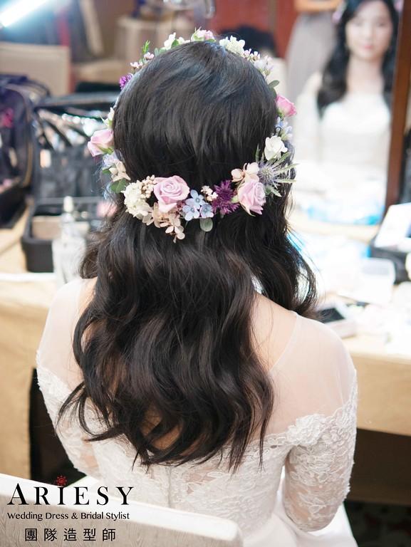 黑髮新娘造型,愛瑞思,nica,台北新秘,新娘秘書,新秘推薦