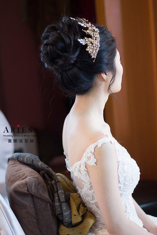 黑髮新娘造型,愛瑞思,DEBBIE,台北新秘,新娘秘書,新秘推薦
