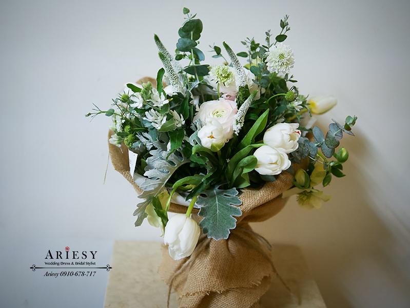 顏氏牧場,新娘秘書,戶外婚禮,歐美風新娘捧花,新娘自然妝感,愛瑞思,ariesy