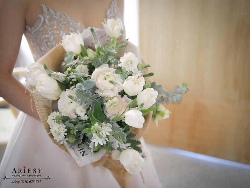 顏氏牧場,新娘秘書,戶外婚禮,歐美風新秘,新娘捧花,愛瑞思,ariesy