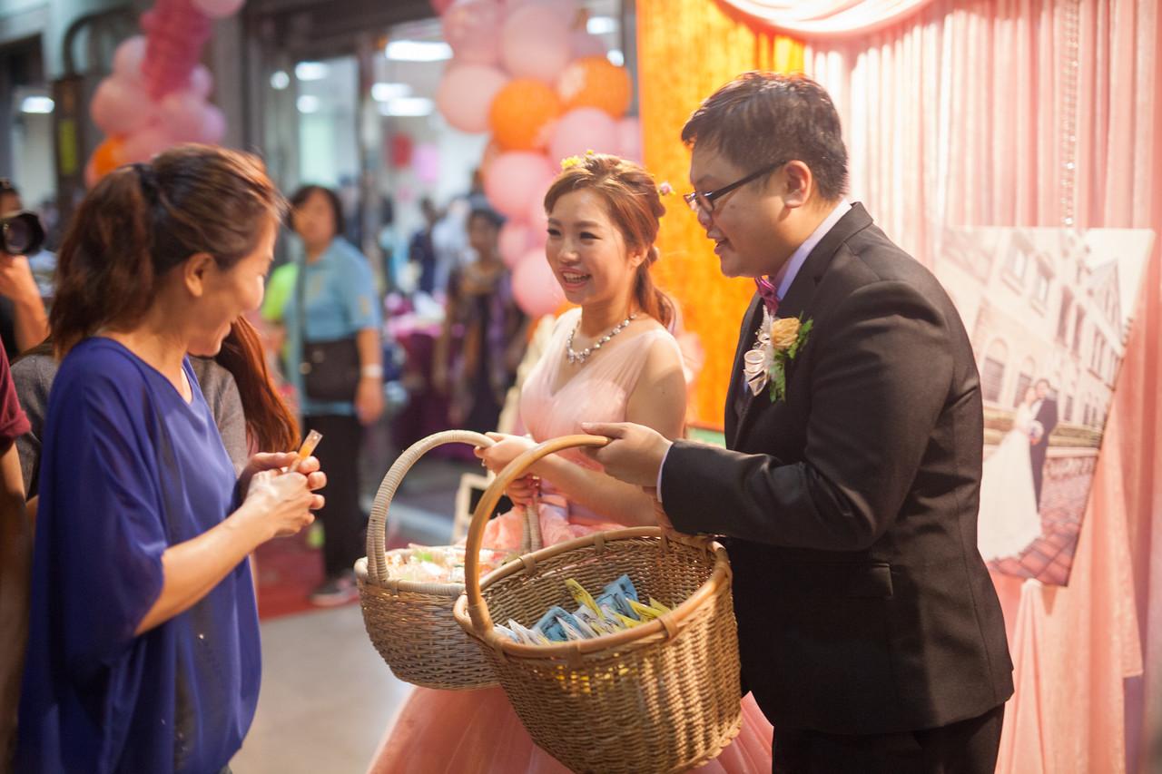 《高雄婚攝》 高飛的捧花飄揚的幸福