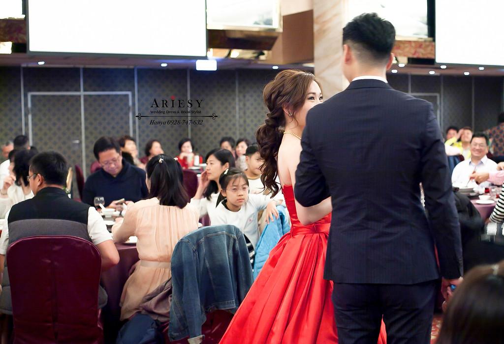 高雄新祕,新娘秘書,時尚名媛風,新娘造型,新娘髮型