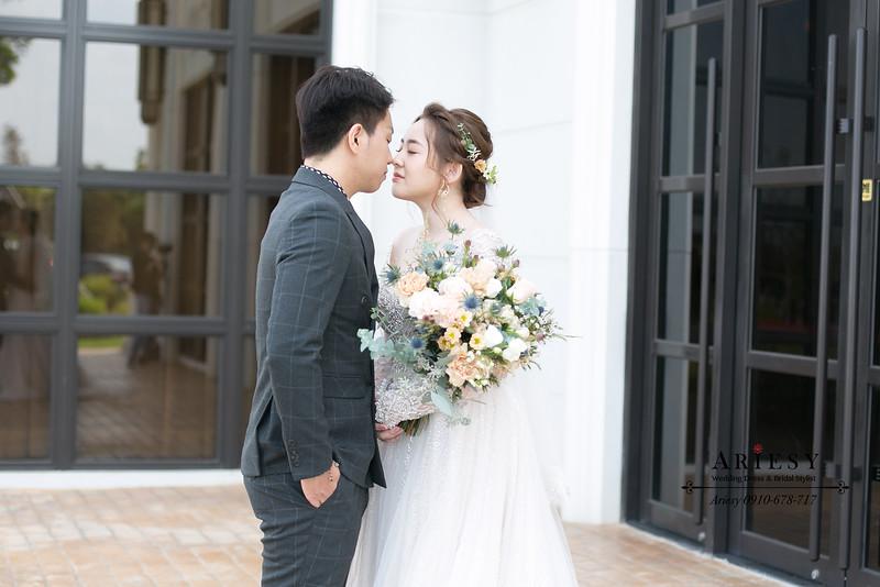 美式鮮花新秘,白紗新娘造型,教堂證婚,新娘秘書,台北新秘,ARIESY,愛瑞思