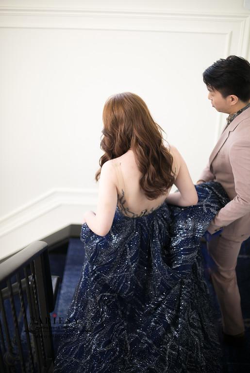 美式新秘,送客新娘造型,時尚名媛新娘髮型,新娘秘書,台北新秘,ARIESY,愛瑞思