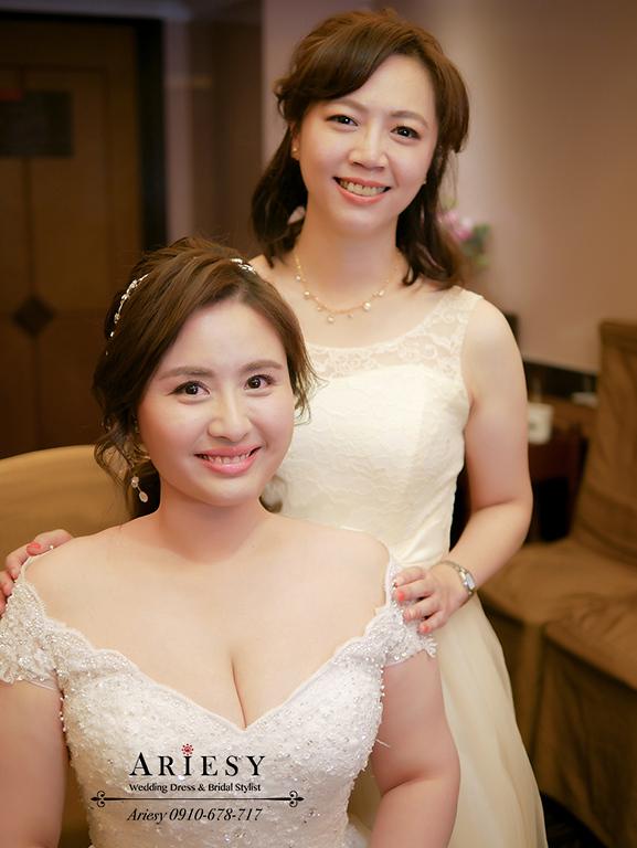 白紗造型,馬尾造型,新娘髮帶,蕾絲白紗髮型,新娘妝感