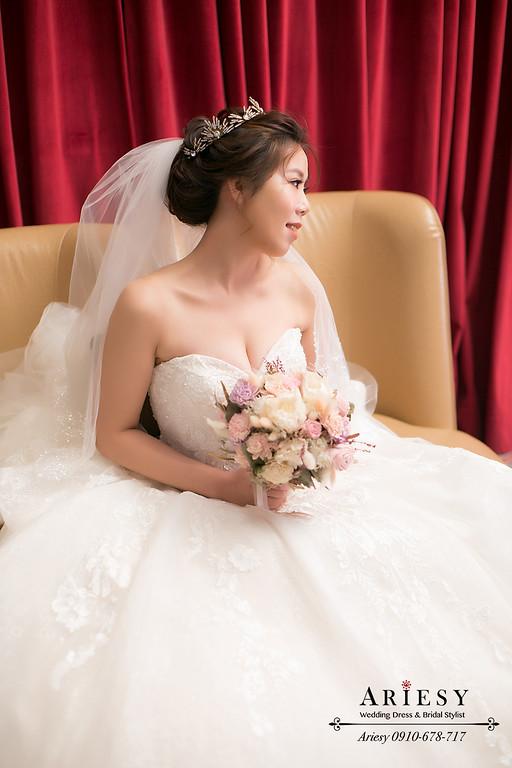 ARIESY,台北新秘推薦,新娘秘書,皇冠造型,白紗造型,愛瑞思