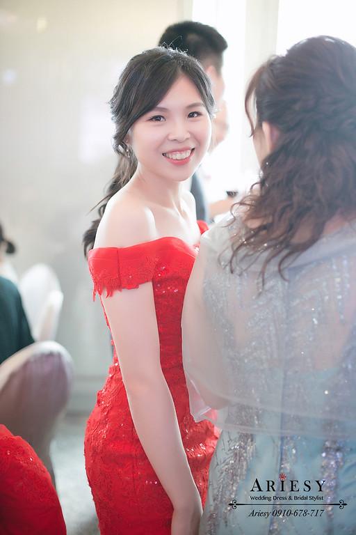 新娘秘書,新秘,台北新秘推薦,mega50婚宴會館,愛瑞思,AREISY,黑髮新娘