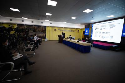 2021 оны дөрөвдүгээр сарын 2. БШУ-ы сайд Л.Энх-Амгалан хувьсах зардал болон сургалтын төлбөрийн асуудлаар хэвлэлийн хурал хийлээ. ГЭРЭЛ ЗУРГИЙГ Д.ЭРДЭНЭЦЭЦЭГ/MPA