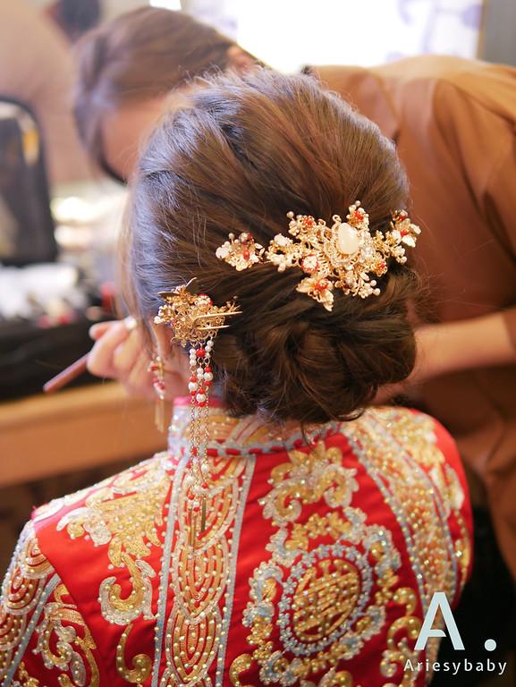 新娘秘書,龍鳳掛新娘造型,編髮新娘造型,新娘時尚造型,新娘妝感