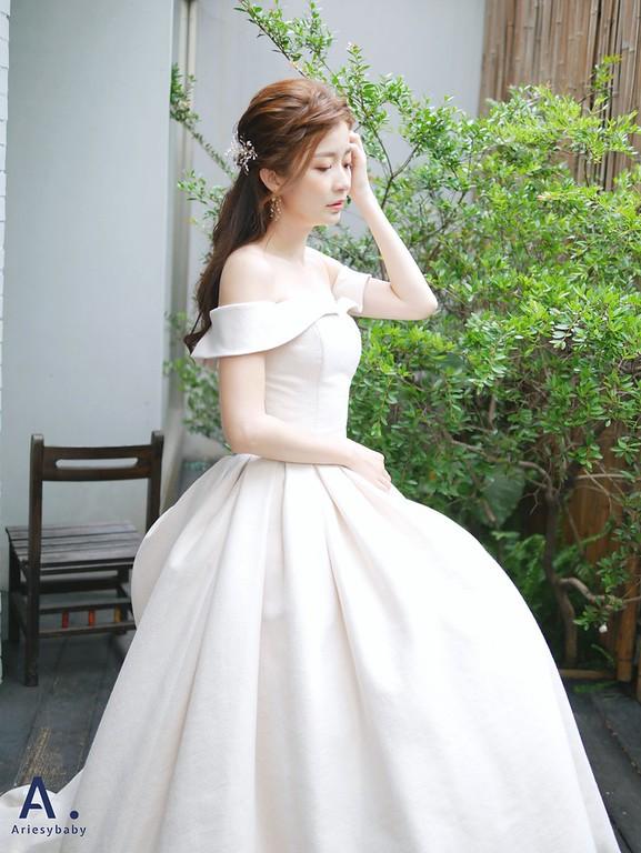 新娘秘書,新娘造型,新秘,盤髮花藝造型,新娘妝感