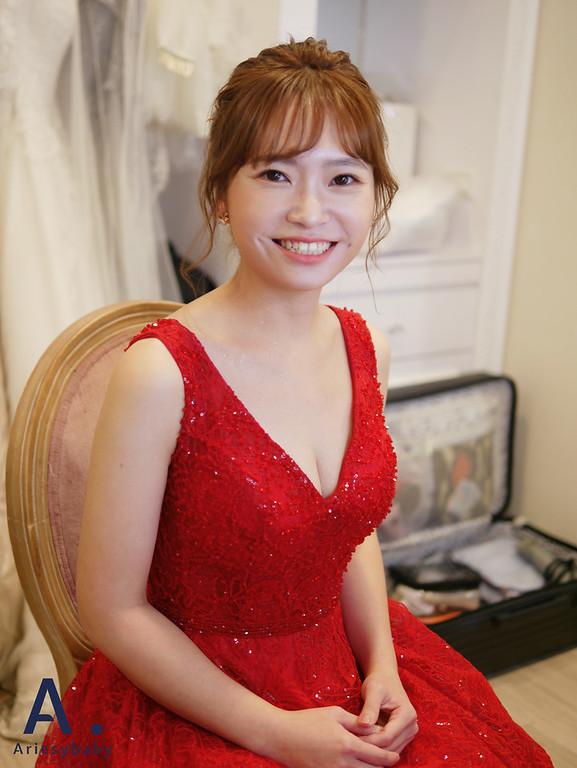 新娘造型,新娘秘書,台北新秘,新秘推薦,短髮造型