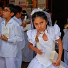 First communion: 8 years old.