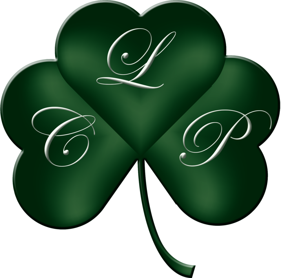 THREE LEAF CLOVER-GRADIENT COLOR