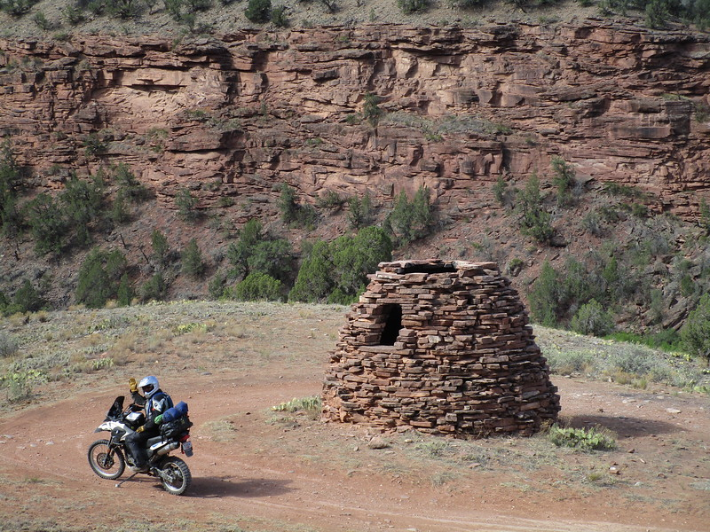 Day 4 - Jon stops at an old coke oven along CO 145.