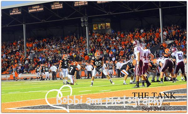 Ironton vs Ashland Varsity Football Sept '14