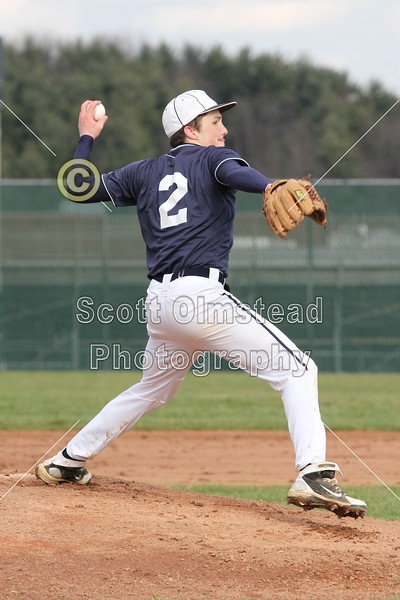 Tuesday, April 5, 2011 - Lakewood Lancers at Granville Blue Aces