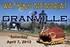 Saturday, April 7, 2012 - Watkins Memorial Warriors at Granville Blue Aces