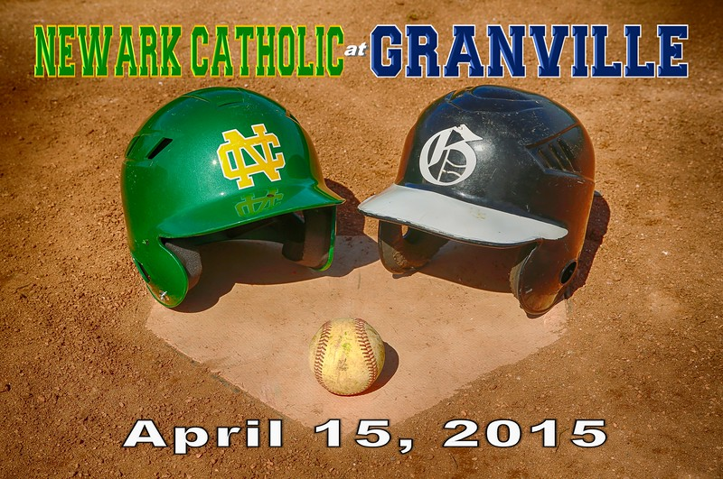 Newark Catholic High School Green Wave at Granville High School Blue Aces - Wednesday, April 15, 2015