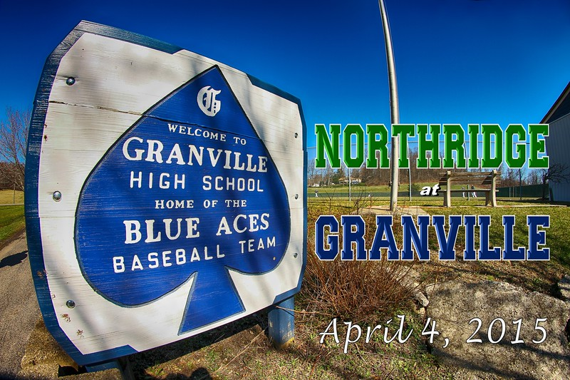 Northridge High School Vikings at Granville High School Blue Aces - Saturday, April 4, 2015
