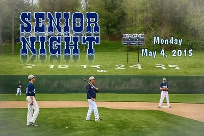 2015 Senior Night Introductions (05-04-15)