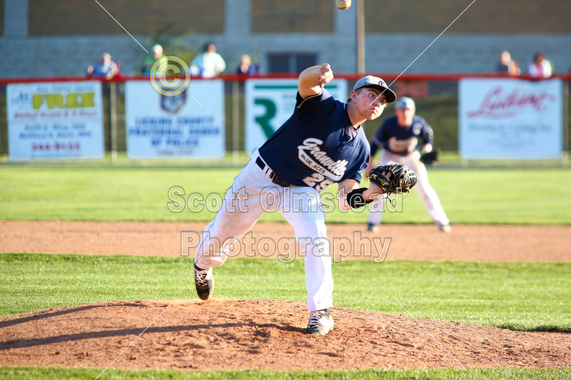 Granville High School Blue Aces at Heath High School Bulldogs - Friday, April 15, 2016