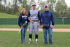 Zach Blumling, Senior Jersey Number 5 - Reynoldsburg High School Raiders at Granville High School Blue Aces - Saturday, April 30, 2016