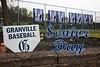 Senior Night - Reynoldsburg High School Raiders at Granville High School Blue Aces - Saturday, April 30, 2016
