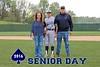 Zac Hayburn, Senior Jersey Number 3 - Reynoldsburg High School Raiders at Granville High School Blue Aces - Saturday, April 30, 2016