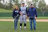 Zach Bluming, Senior Jersey Number 5 - Reynoldsburg High School Raiders at Granville High School Blue Aces - Saturday, April 30, 2016