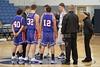 Team Captains - Friday, December 17, 2010 - Lakewood Lancers at Granville Blue Aces - Junior Varsity Basketball