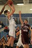 (33-Granville) Jack Parsley & (15-Heights) Blake Beaver - 1st Quarter - Tuesday, December 07, 2010 - Licking Heights Hornets at Granville Blue Aces - Freshmen Basketball