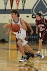 (11) Nick Contini - 1st Quarter - Tuesday, December 07, 2010 - Licking Heights Hornets at Granville Blue Aces - Freshmen Basketball