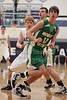 1st Quarter - Wednesday, January 12, 2011 - Newark Catholic Green Wave at Granville Blue Aces - VARSITY