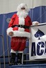 Santa Claus is in the ACESylum - Friday, December 17, 2010 - Lakewood Lancers at Granville Blue Aces - Athletic Hall of Fame Induction Night
