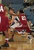 (23) Sherard Pollard - 1st Quarter - Tuesday, December 07, 2010 - Licking Heights Hornets at Granville Blue Aces - Junior Varsity Basketball