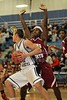 1st Quarter - Tuesday, December 07, 2010 - Licking Heights Hornets at Granville Blue Aces - <br /> Junior Varsity Basketball