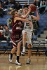 (23-Granville) Hunter Orth & (10-Heights) John Righter - 1st Quarter - Tuesday, December 07, 2010 - Licking Heights Hornets at Granville Blue Aces - Junior Varsity Basketball