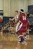 (23-Granville) Hunter Orth & (24-Heights) Anthony Mitchell - 1st Quarter - Tuesday, December 07, 2010 - Licking Heights Hornets at Granville Blue Aces - Junior Varsity Basketball