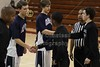 Team Captains - Tuesday, February 20, 2012 - FRESHMEN TOURNAMENT held at Newark High School - Granville Blue Aces versus Westerville Central Warhawks