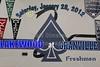 Saturday, January 28, 2012 - Lakewood Lancers at Granville Blue Aces - FRESHMEN