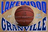 Thursday, January 19, 2012 - Lakewood Lancers at Granville Blue Aces - 8th Grade