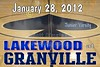 Saturday, January 28, 2012 - Lakewood Lancers at Granville Blue Aces - JUNIOR VARSITY