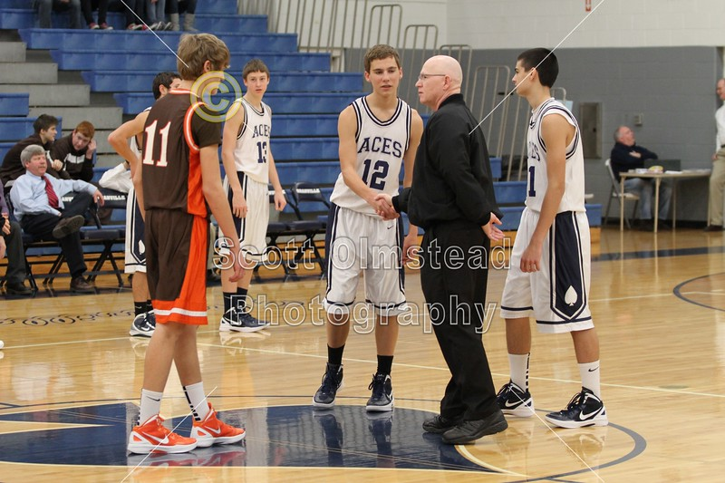 Team Captains - Saturday, December 10, 2011 - Heath Bulldogs at Granville Blue Aces - FRESHMEN